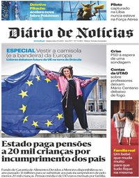 capa Diário de Notícias de 9 maio 2019