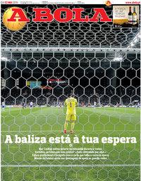 capa Jornal A Bola de 2 maio 2019