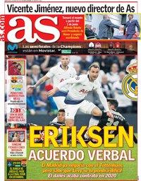capa Jornal As de 1 maio 2019