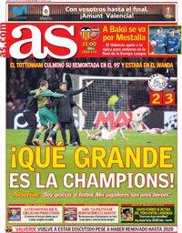 capa Jornal As de 9 maio 2019