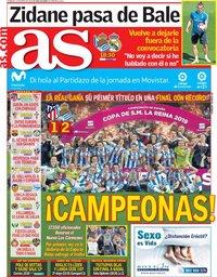 capa Jornal As de 12 maio 2019
