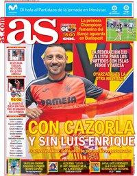 capa Jornal As de 18 maio 2019