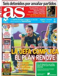capa Jornal As de 29 maio 2019