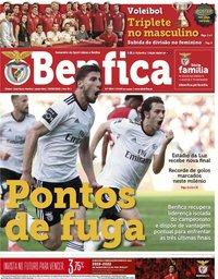 capa Jornal Benfica de 3 maio 2019
