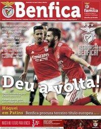 capa Jornal Benfica de 10 maio 2019