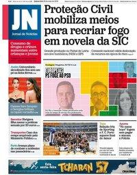 capa Jornal de Notícias de 23 maio 2019