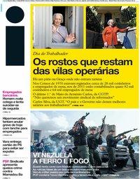 capa Jornal i de 1 maio 2019