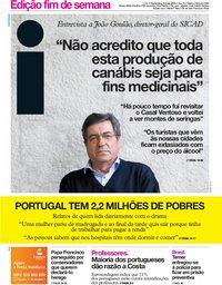capa Jornal i de 10 maio 2019