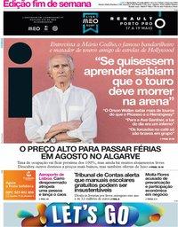 capa Jornal i de 17 maio 2019