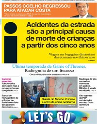 capa Jornal i de 21 maio 2019