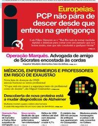 capa Jornal i de 28 maio 2019