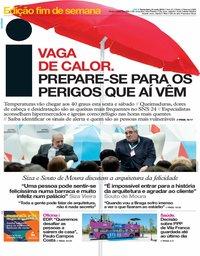 capa Jornal i de 31 maio 2019