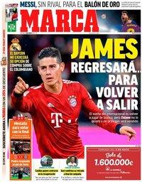 capa Jornal Marca de 3 maio 2019