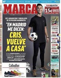 capa Jornal Marca de 4 maio 2019