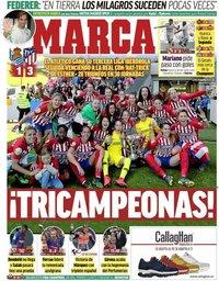 capa Jornal Marca de 6 maio 2019