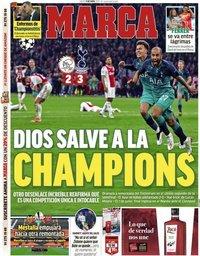capa Jornal Marca de 9 maio 2019