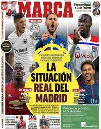 capa Jornal Marca de 11 maio 2019