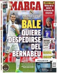 capa Jornal Marca de 16 maio 2019