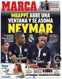 capa Jornal Marca de 21 maio 2019