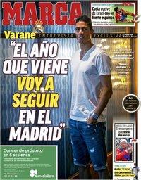 capa Jornal Marca de 22 maio 2019