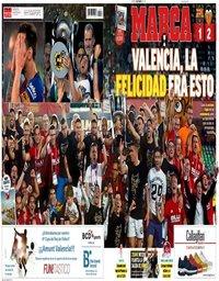 capa Jornal Marca de 26 maio 2019