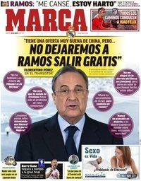 capa Jornal Marca de 28 maio 2019