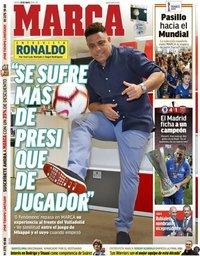 capa Jornal Marca de 30 maio 2019