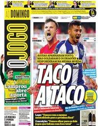 capa Jornal O Jogo de 5 maio 2019
