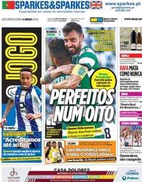 capa Jornal O Jogo de 6 maio 2019