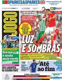capa Jornal O Jogo de 13 maio 2019