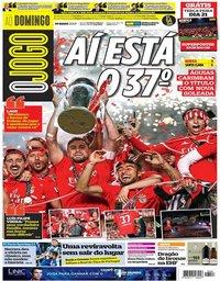capa Jornal O Jogo de 19 maio 2019