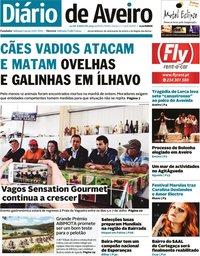 capa de Diário de Aveiro
