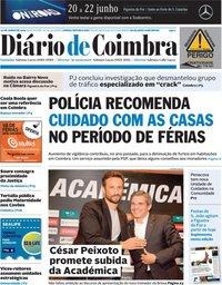 capa de Diário de Coimbra