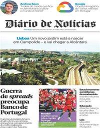 capa Diário de Notícias de 6 junho 2019