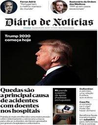 capa Diário de Notícias de 18 junho 2019