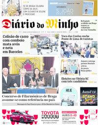 capa de Diário Do Minho