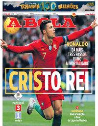 capa Jornal A Bola de 6 junho 2019