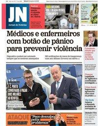 capa Jornal de Notícias de 8 junho 2019
