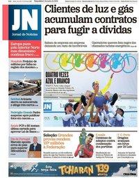 capa Jornal de Notícias de 11 junho 2019