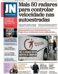 capa Jornal de Notícias de 13 junho 2019
