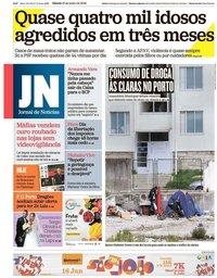 capa Jornal de Notícias de 15 junho 2019