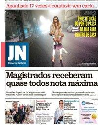 capa Jornal de Notícias de 16 junho 2019
