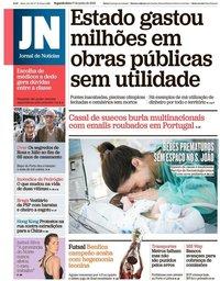 capa Jornal de Notícias de 17 junho 2019