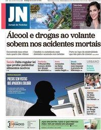 capa Jornal de Notícias de 23 junho 2019