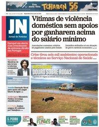 capa Jornal de Notícias de 28 junho 2019
