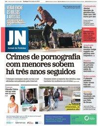 capa Jornal de Notícias de 30 junho 2019