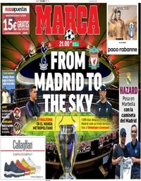 capa Jornal Marca de 1 junho 2019