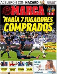 capa Jornal Marca de 4 junho 2019