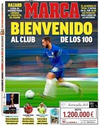 capa Jornal Marca de 7 junho 2019