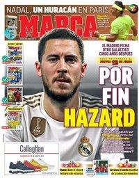 capa Jornal Marca de 8 junho 2019